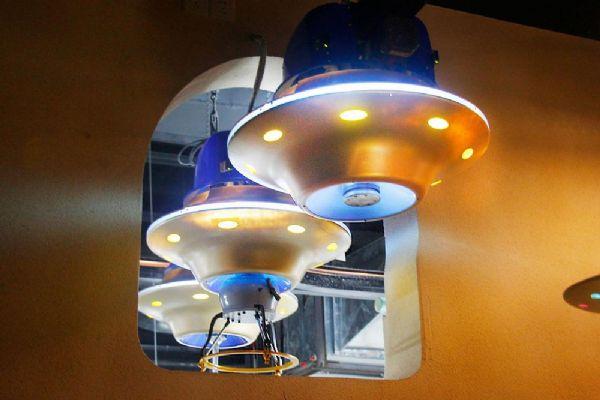 【会员风采】星际飞碟餐厅